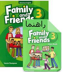 دوره زبان انگلیسی مقدماتی کودکان 3 Family and Friends