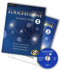 دوره زبان انگلیسی ویژه بزرگسالان TOUCHSTONE 2 دانلود کتاب تاچ استون